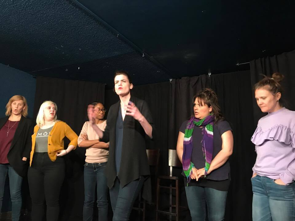Brie Watson improv and mindfulness with Fantastic Funny Femmes